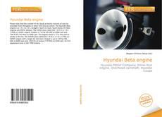 Capa do livro de Hyundai Beta engine