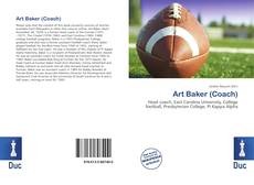 Couverture de Art Baker (Coach)