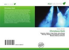 Capa do livro de Christiane Kohl