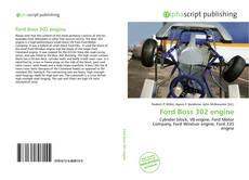 Ford Boss 302 engine的封面