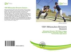 Bookcover of 1991 Milwaukee Brewers Season