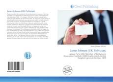 Bookcover of James Johnson (UK Politician)