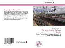 Portada del libro de Hampton Loade Railway Station