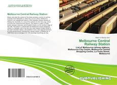Bookcover of Melbourne Central Railway Station