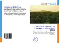 Conférence Mondiale sur la Biodiversité, de Nagoya (2010) kitap kapağı