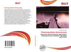 Capa do livro de Cosmopolitan democracy