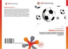 Bookcover of Matthew Grieve