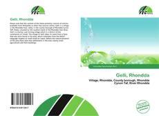 Обложка Gelli, Rhondda