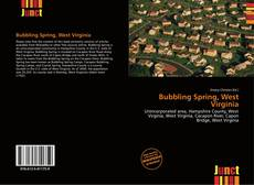 Bookcover of Bubbling Spring, West Virginia