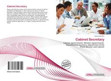Bookcover of Cabinet Secretary