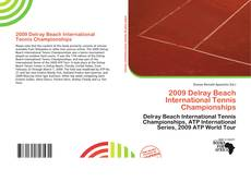 2009 Delray Beach International Tennis Championships的封面