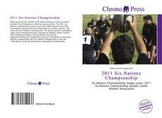 2011 Six Nations Championship kitap kapağı