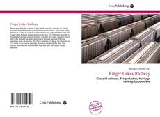 Capa do livro de Finger Lakes Railway