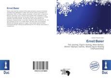Bookcover of Ernst Baier