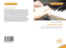 Bookcover of Christian Jacob