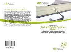 Borítókép a  Civil and Public Services Union - hoz