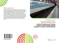 East London Line kitap kapağı