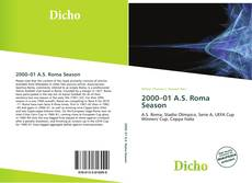 Bookcover of 2000–01 A.S. Roma Season