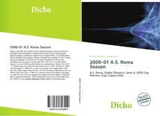 Portada del libro de 2000–01 A.S. Roma Season
