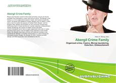 Bookcover of Abergil Crime Family