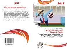 Bookcover of 2009 International German Open