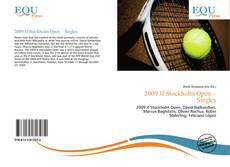 Copertina di 2009 If Stockholm Open – Singles