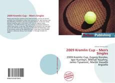 Portada del libro de 2009 Kremlin Cup – Men's Singles