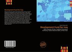 Couverture de Development Fund for Iraq