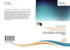 Capa do livro de Clandestine HUMINT Asset Recruiting