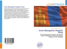 Bookcover of Inner Mongolian People's Party