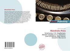 Bookcover of Mandrake Press