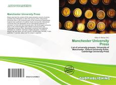Bookcover of Manchester University Press