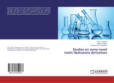 Couverture de Studies on some novel Isatin Hydrazone derivatives