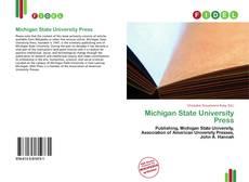 Portada del libro de Michigan State University Press