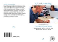 Buchcover von Durham Business School