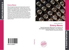 Bookcover of Emery Reves