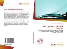 Couverture de 1992 Miami Dolphins Season
