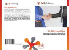 Bookcover of Civil Service Club