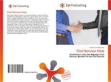 Portada del libro de Civil Service Club