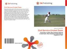 Civil Service Cricket Team的封面