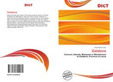 Galatone的封面