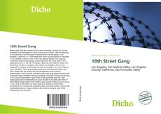 Bookcover of 18th Street Gang