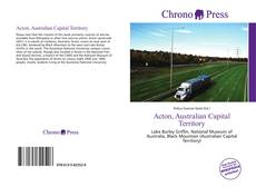 Bookcover of Acton, Australian Capital Territory