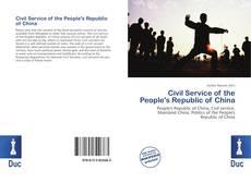 Portada del libro de Civil Service of the People's Republic of China