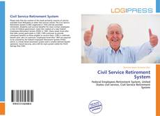 Bookcover of Civil Service Retirement System