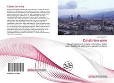 Calabrian wine的封面