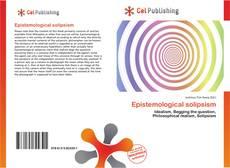 Bookcover of Epistemological solipsism