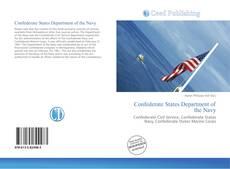 Capa do livro de Confederate States Department of the Navy