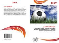 Bookcover of Luis Salmerón