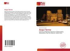 Bookcover of Acqui Terme